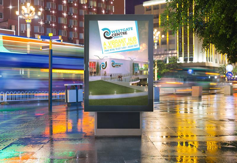 Westgate Retail Presenter Outdoor