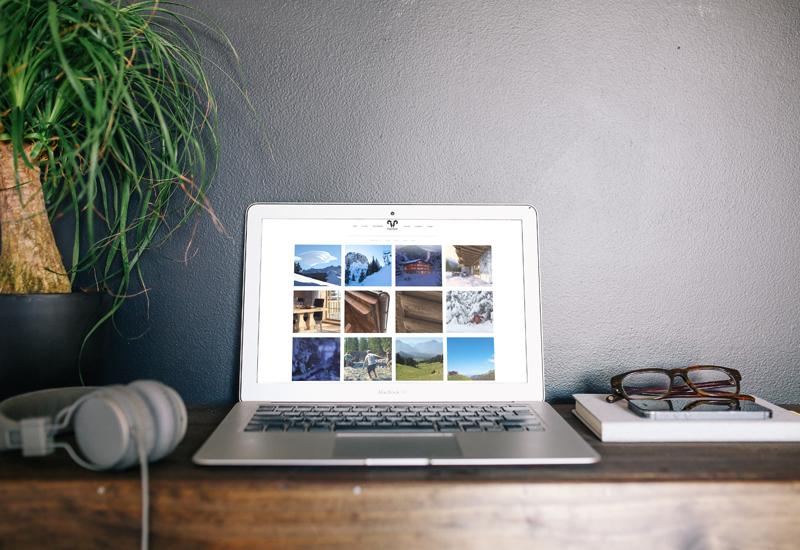 luxury home website brochure