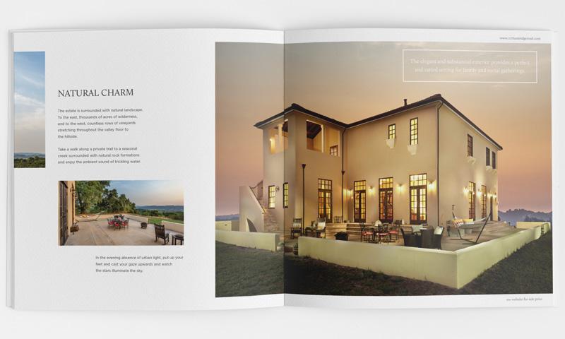 Residential Property Brochure Design – Property Brochure