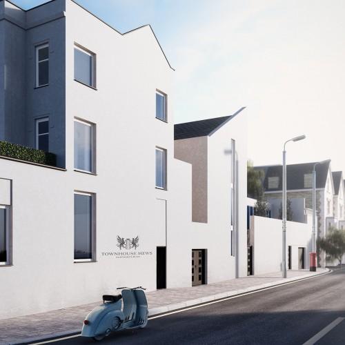 london development architectural visualisation