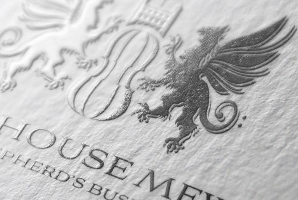 elegant brochure design townhouse branding