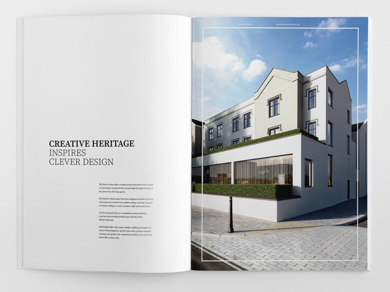 Elegant Brochure Design – Property Brochure