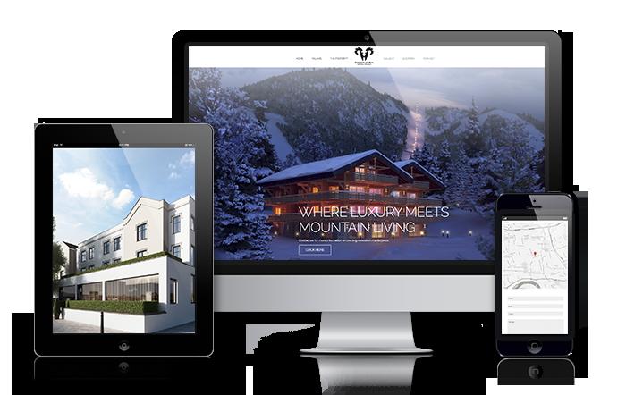 property website design solutions