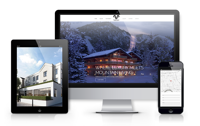 property website design solutions
